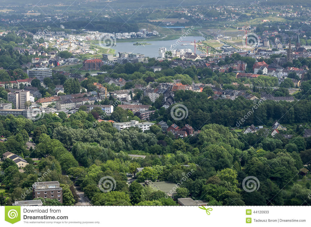 Dortmund Germany  city photos : DORTMUND, GERMANY JULY 13: View from Florian Tower July 13, 2014, in ...