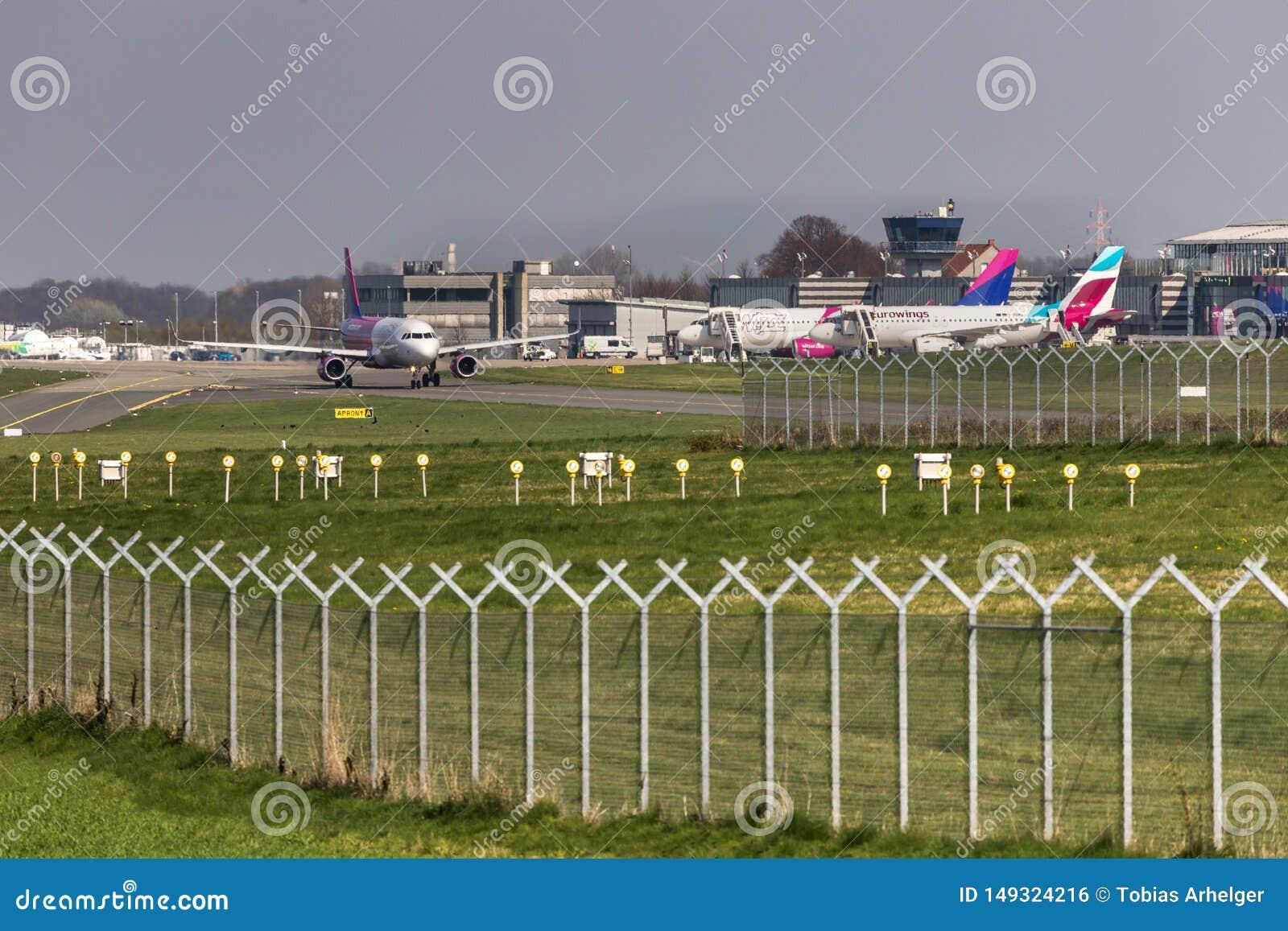 Dortmund airport in dortmund germany