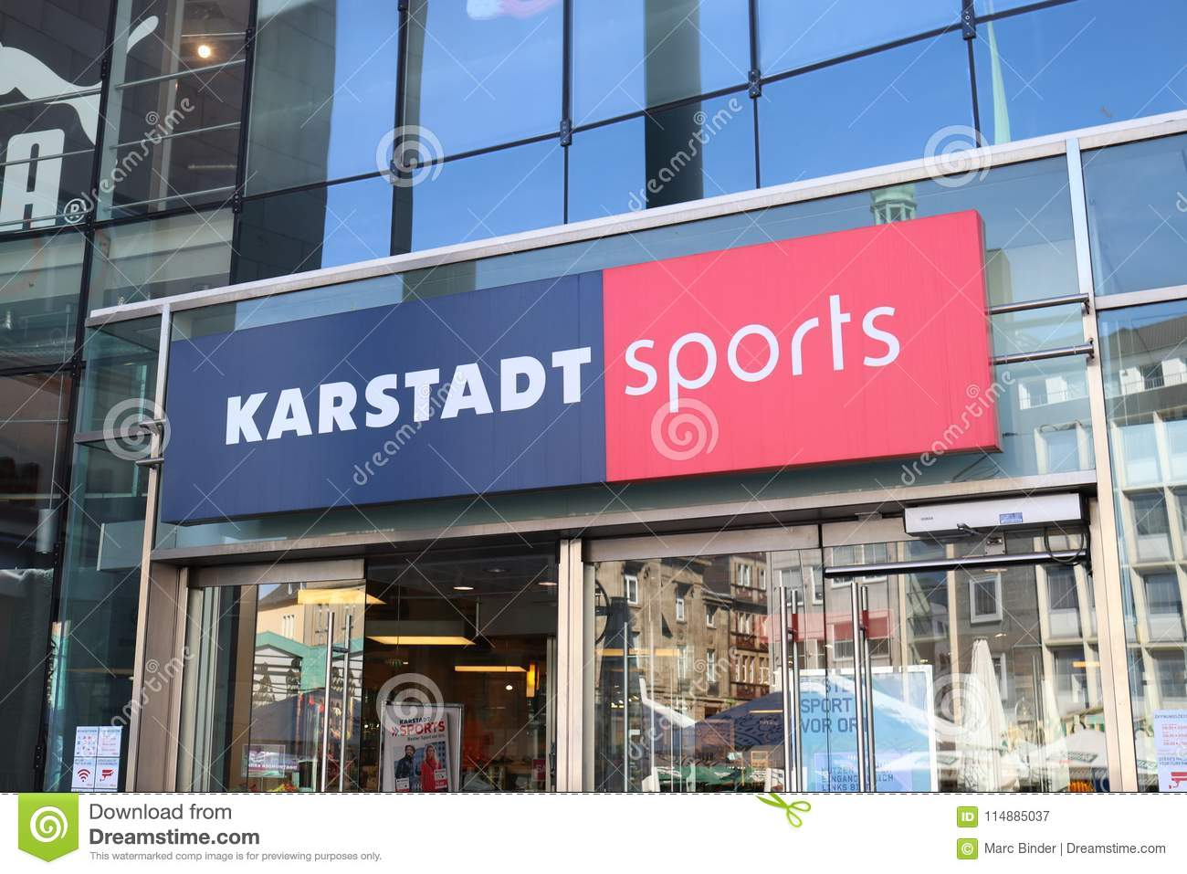 2018 sneakers attractive price cost charm Dortmund, Ruhr Area, North Rhine Westphalia ,Germany - April ...