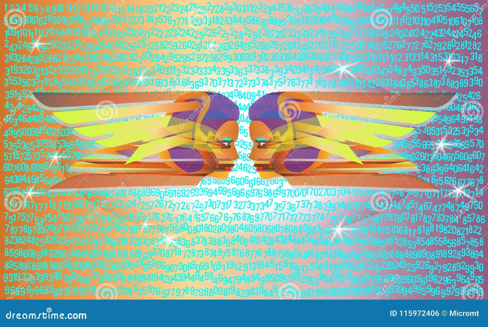 Dos amigas extranjeras que miran el espacio digital Historieta linda del vector para mujer Estallido Art Colorful Illustration