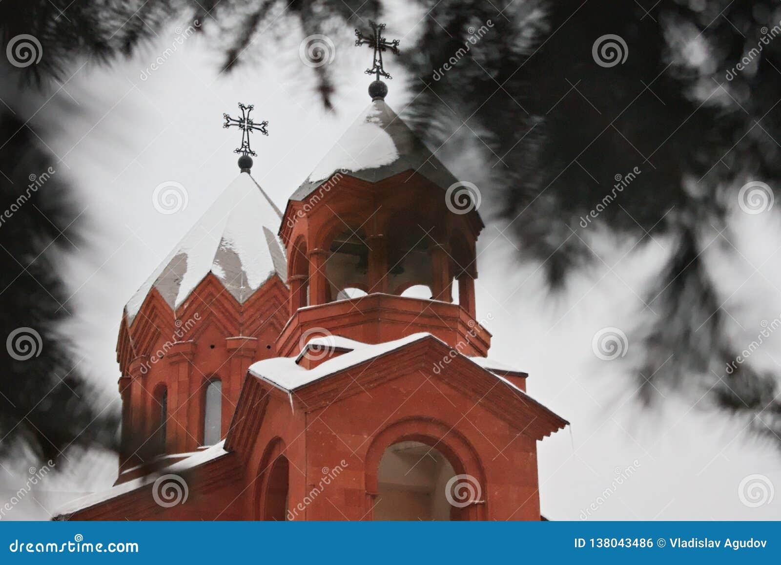 Dos bóvedas de la iglesia apostólica armenia