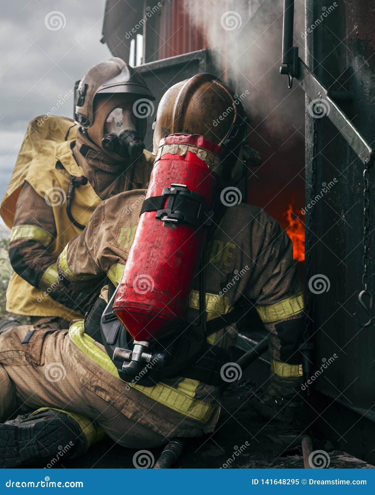 Dos bombero, Dublín, Irlanda