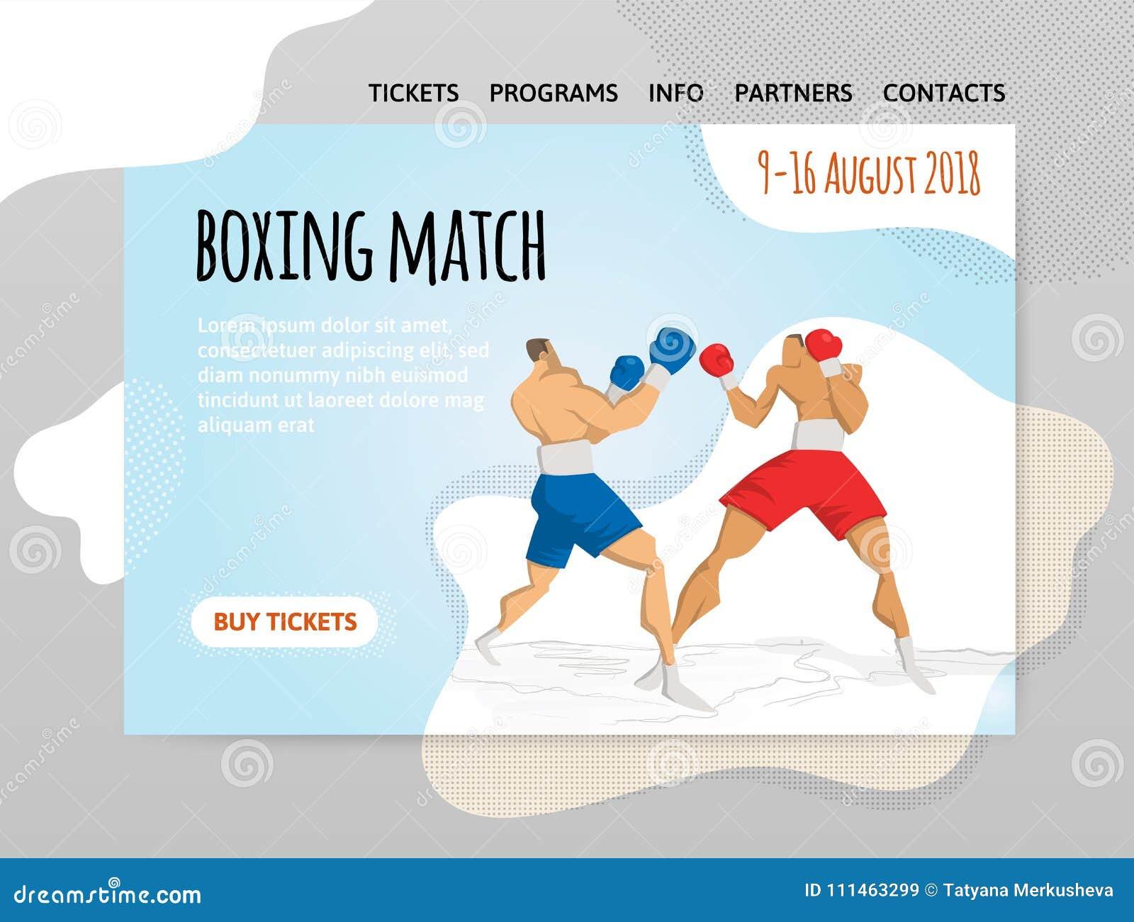 Dos Boxeadores Que Luchan, Combate De Boxeo Vector El Illutration ...