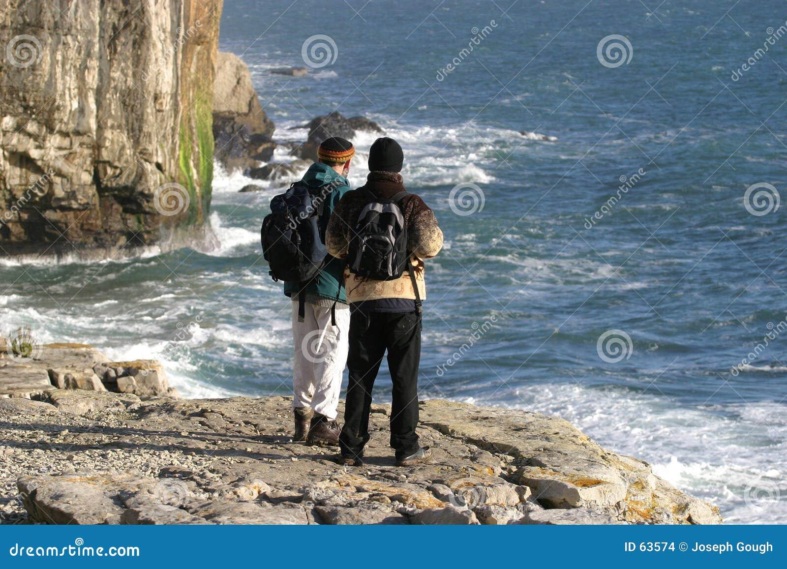 Dos caminantes