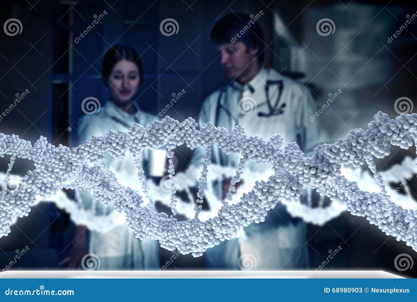 Dos científicos en laboratorio
