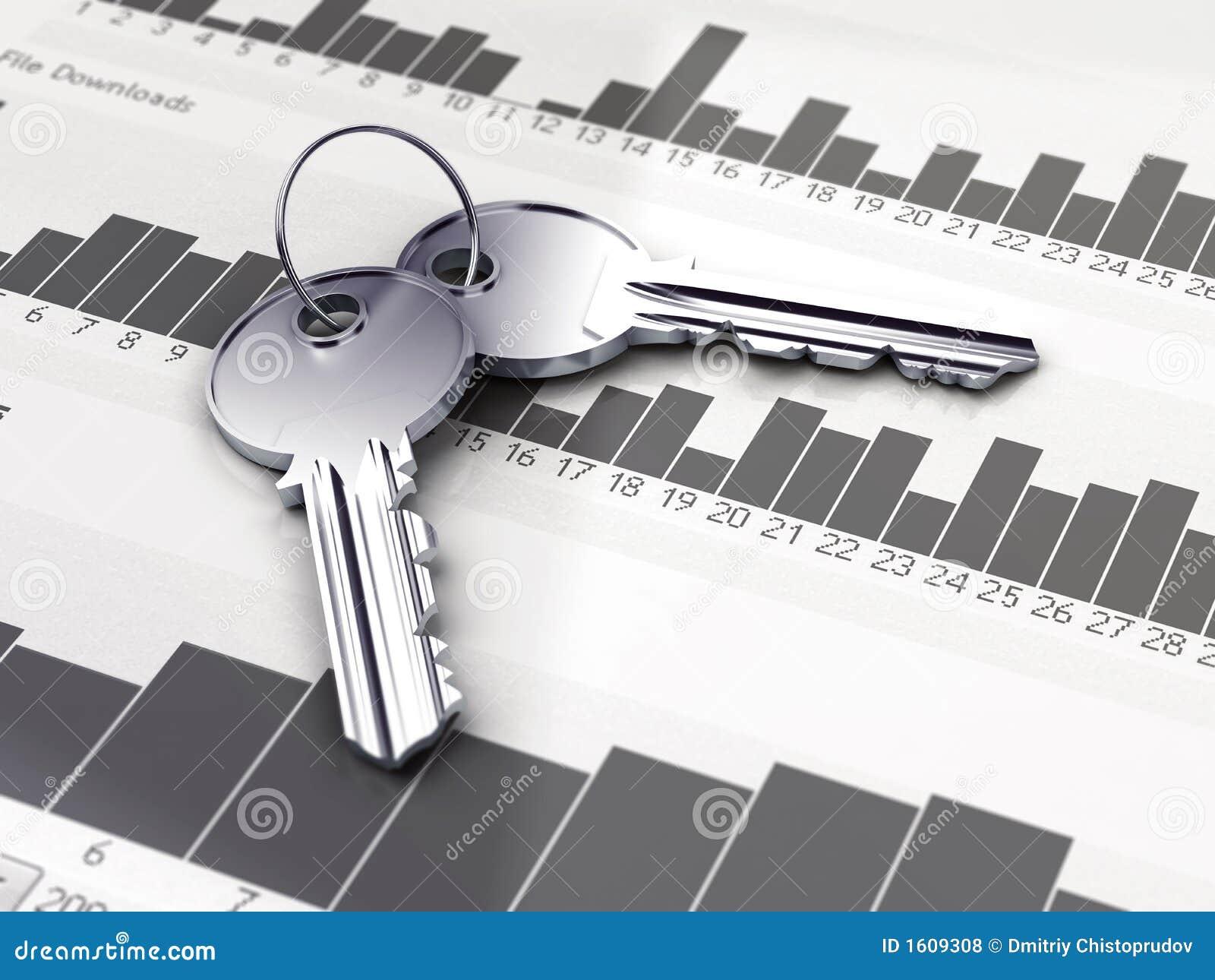 Dos claves de plata