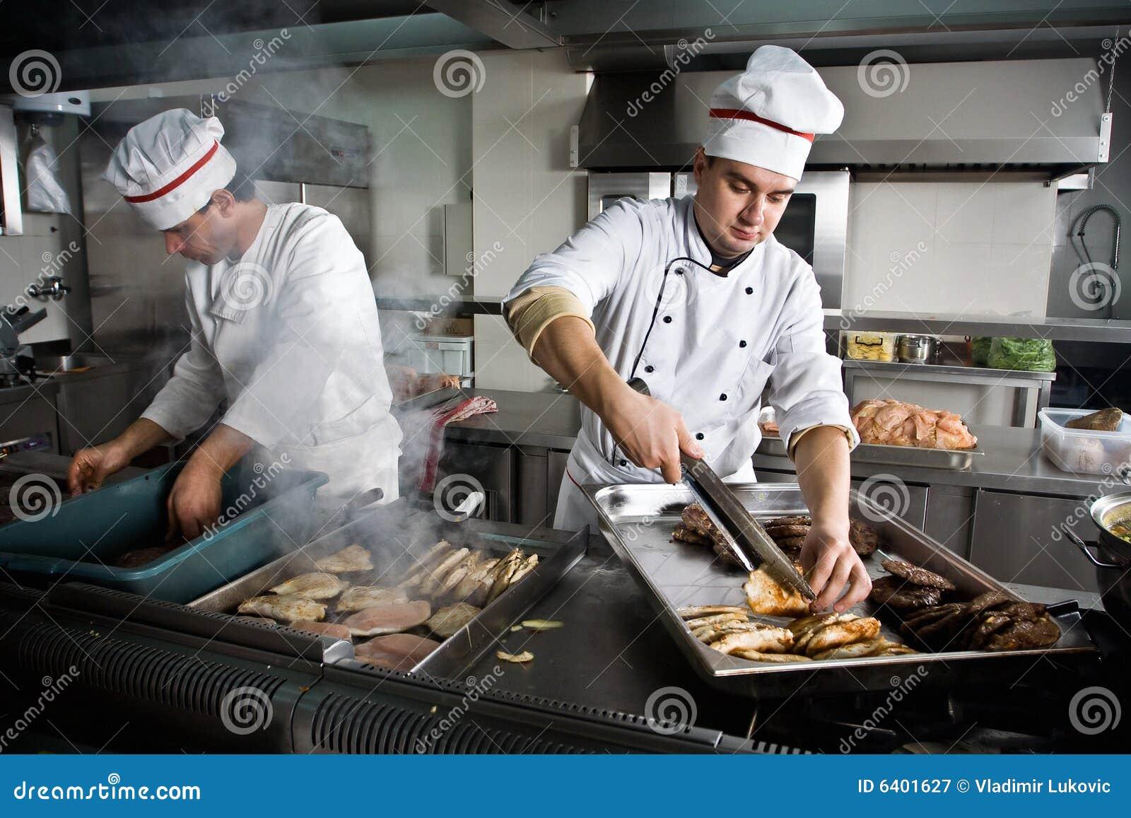 Dos cocineros