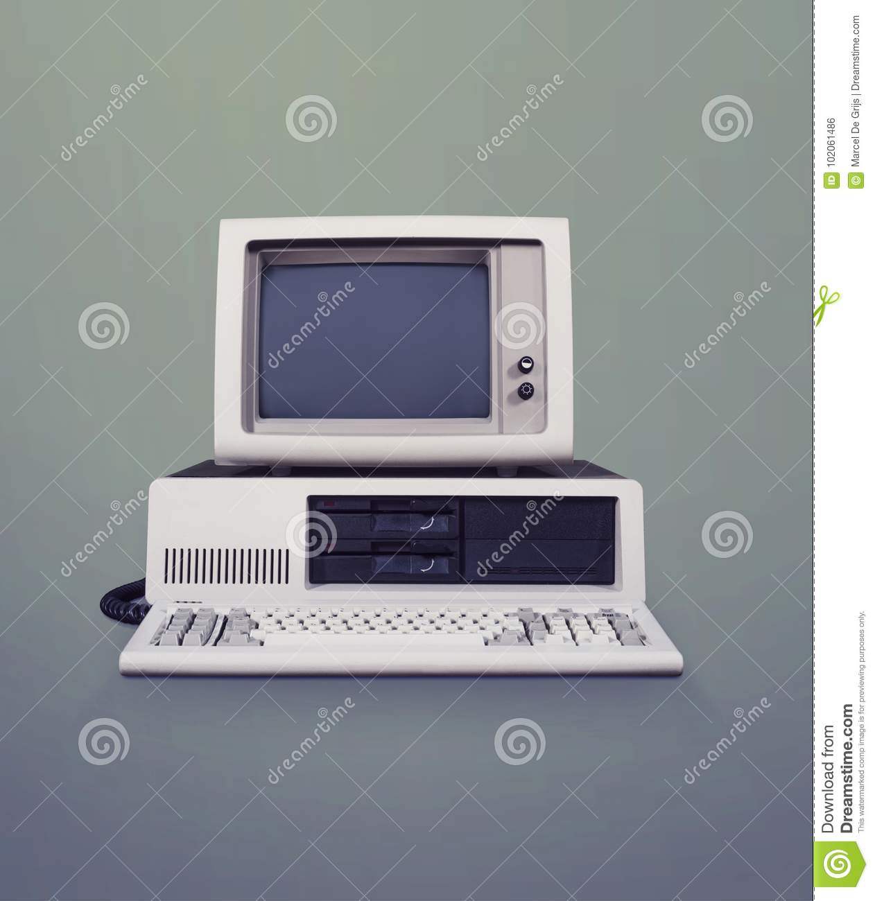 dos computer stock photo image of copy floppy template 102061486