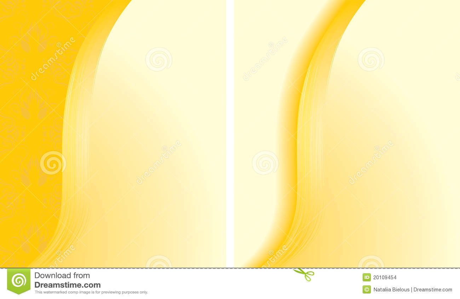 Dos fondos amarillos abstractos para las tarjetas ilustracin del dos fondos amarillos abstractos para las tarjetas thecheapjerseys Images