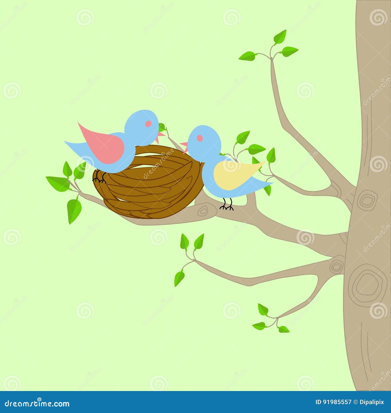 Dos pájaros y una jerarquía