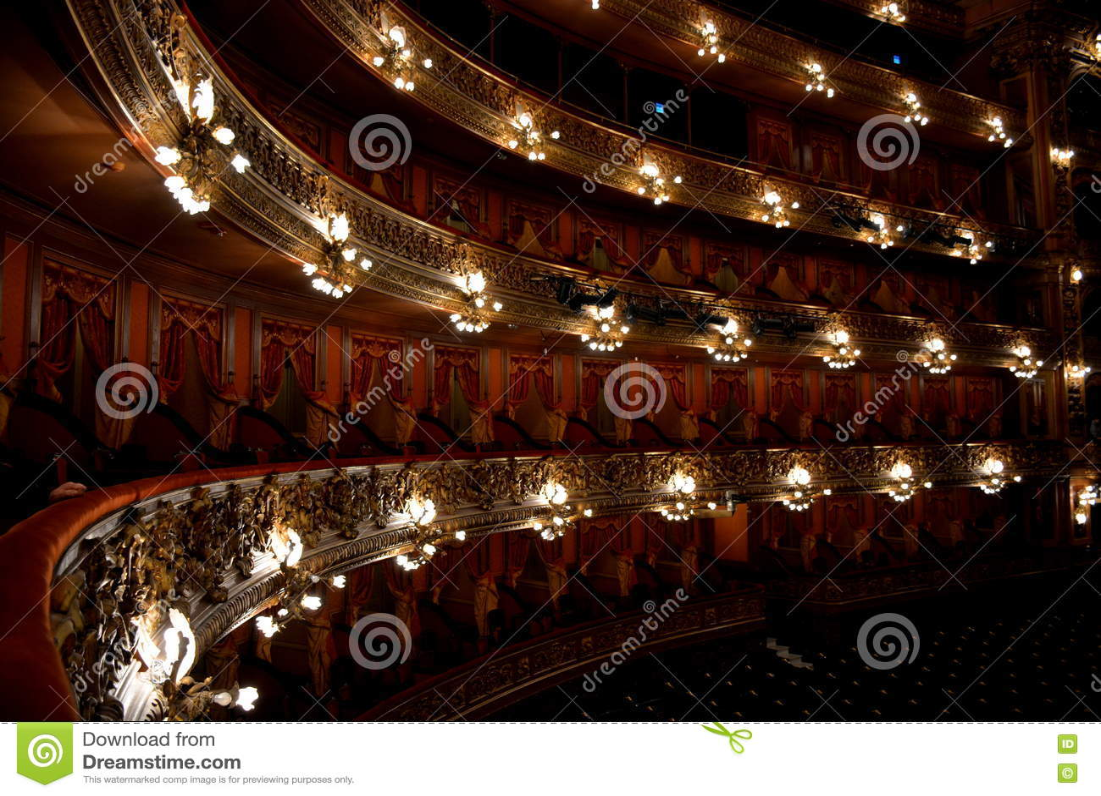 Dos puntos de Teatro, Buenos Aires, la Argentina