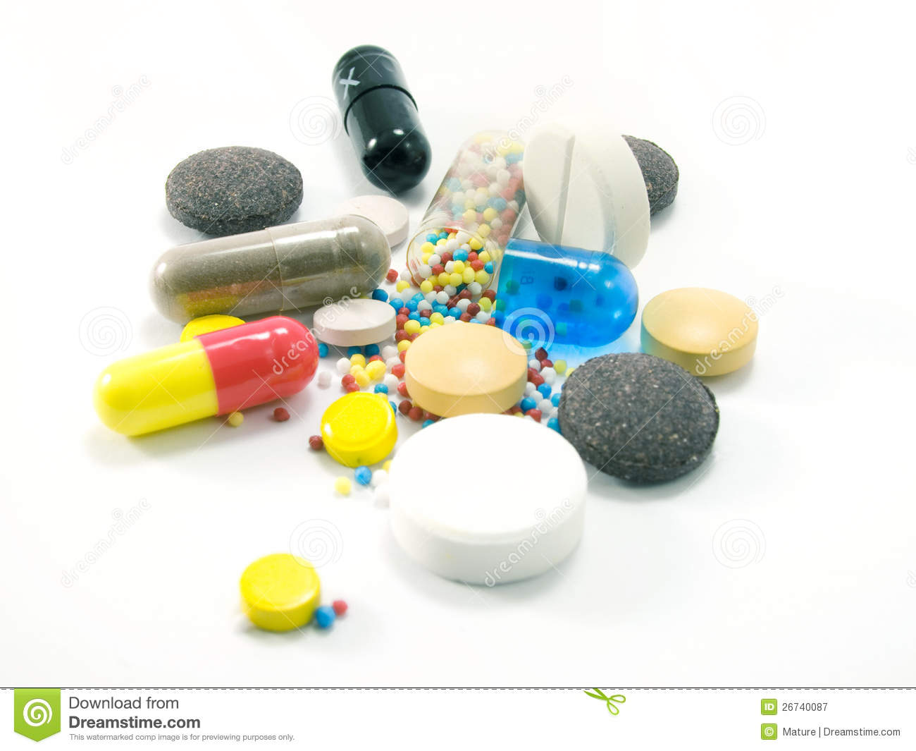 Dosage Form - Drug Royalty Free Stock Photography - Image