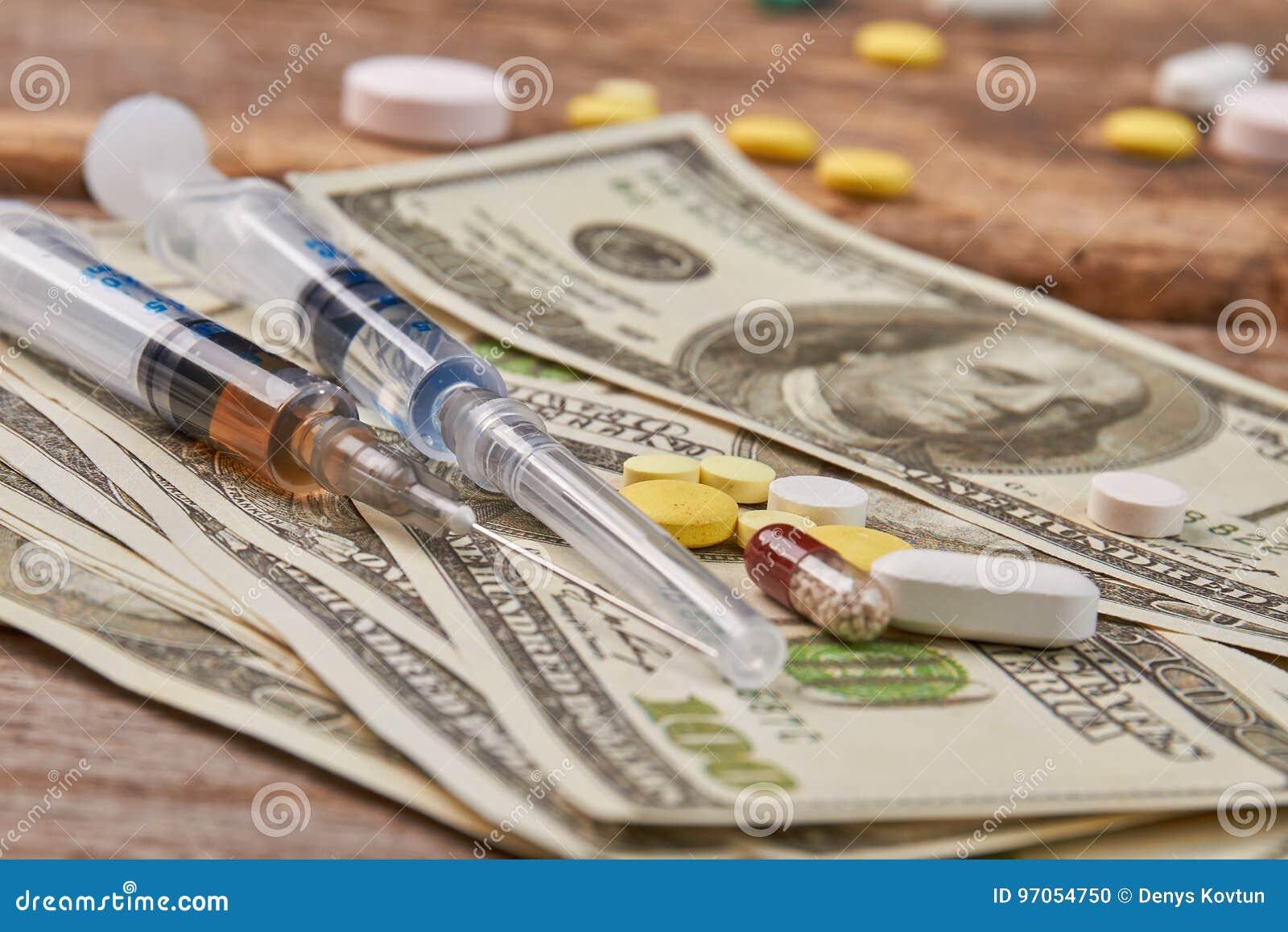 Dosis von Betäubungsmitteln für Bargeld