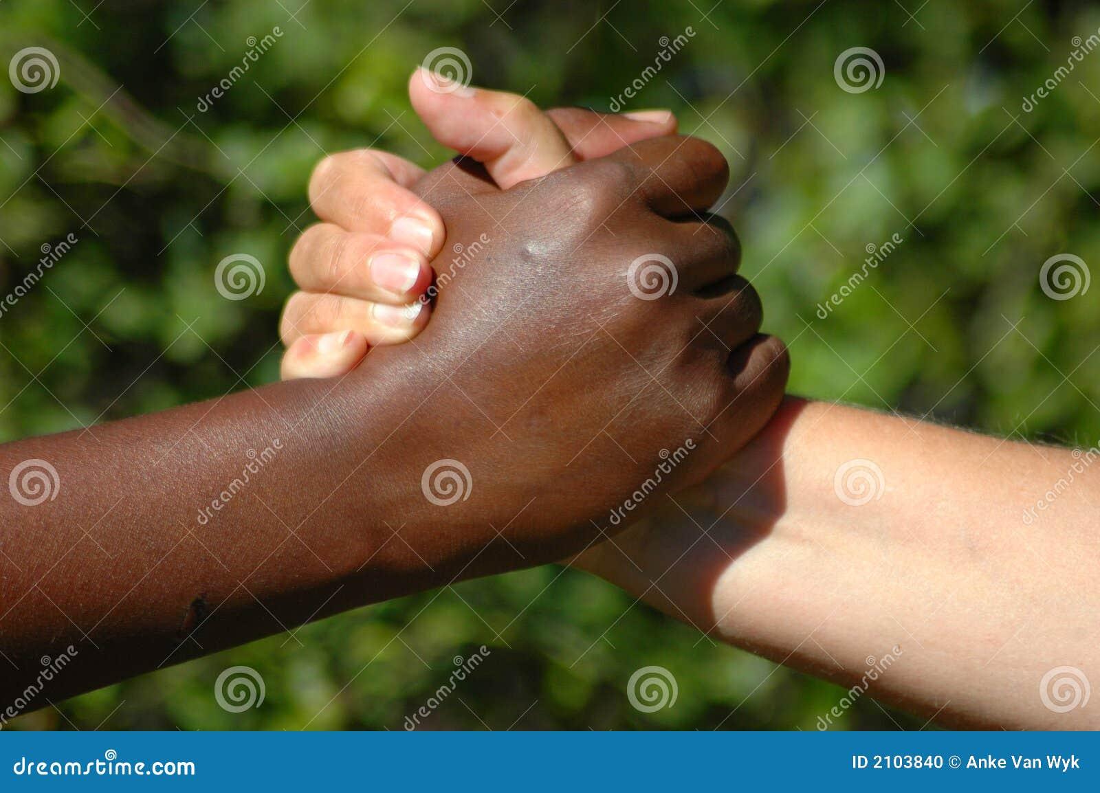 Doskonały zespół ręce