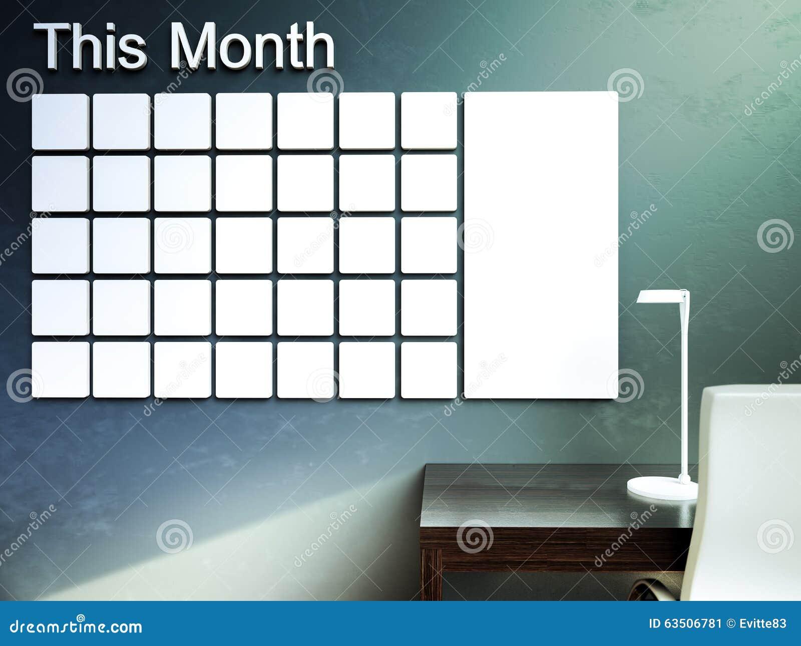 Dostępny kalendarz więcej stron serii ściana Rozkład notatki zarządzania organizatora pojęcie