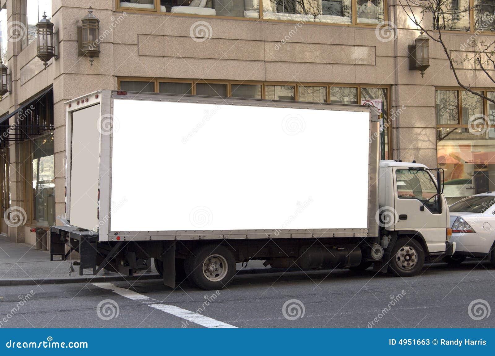 Dostawy reklamowa gotowa ciężarówka