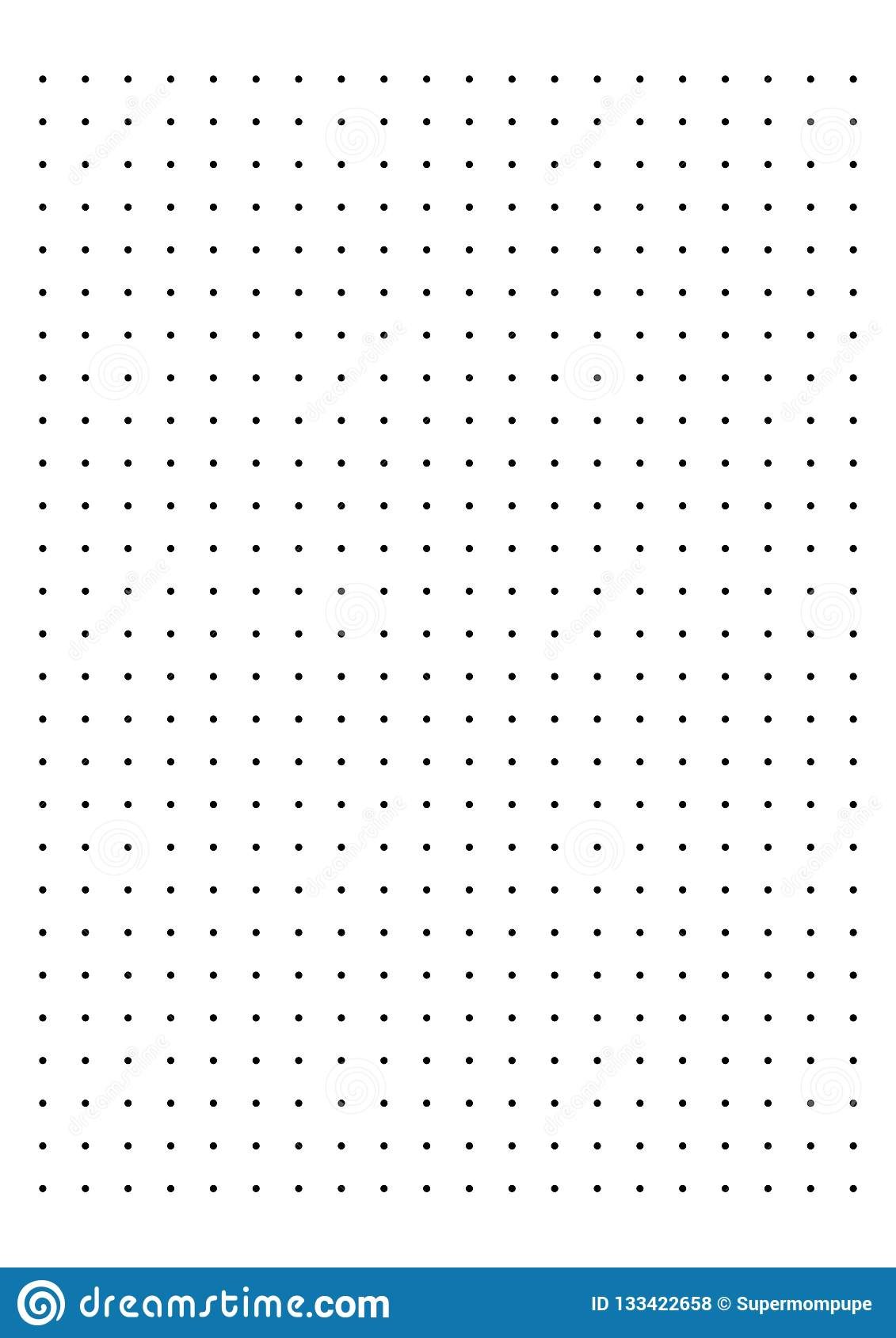 photo regarding Dot Grid Printable referred to as Dot Grid Paper Graph Paper 1 Cm Upon White Heritage Vector
