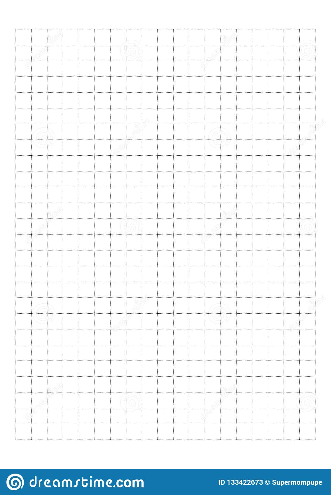 photo relating to 1 Cm Graph Paper Printable named Dot Grid Paper Graph Paper 1 Cm Upon White Record Vector