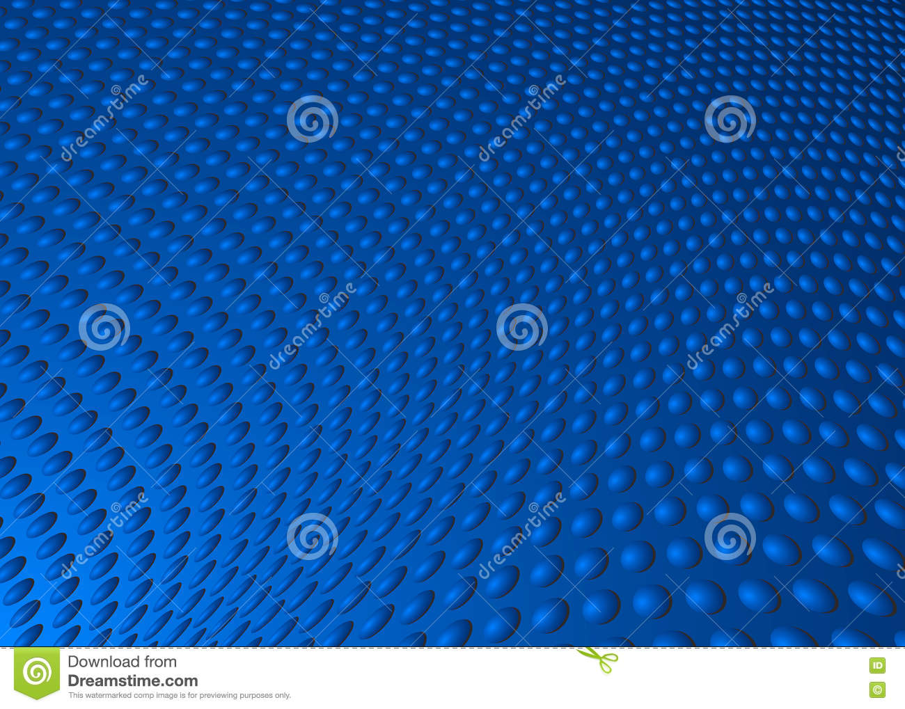 Dot Swirl Background Illustration azul abstracto