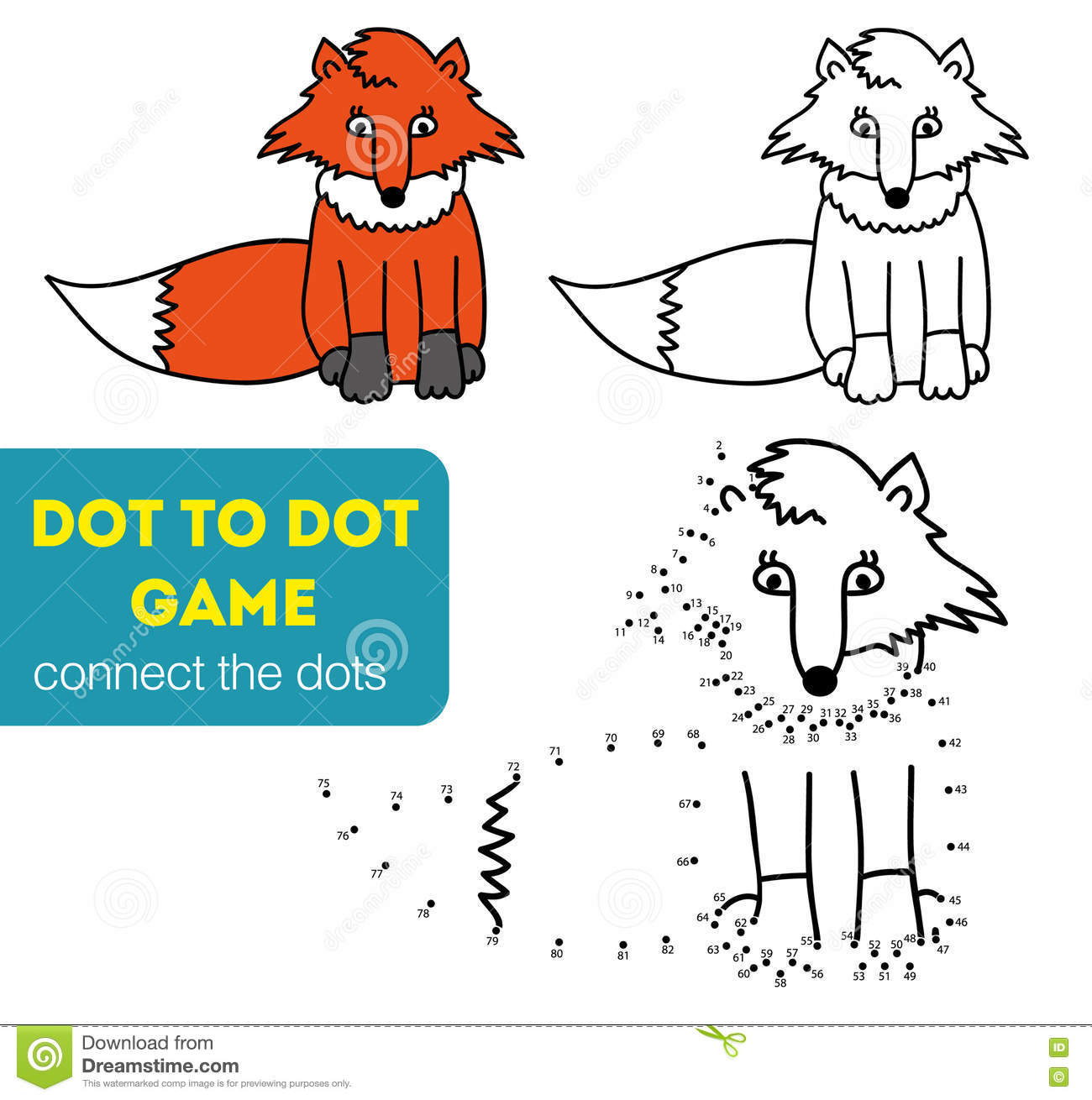 dot to dot games coloring and dot to dot educational game for