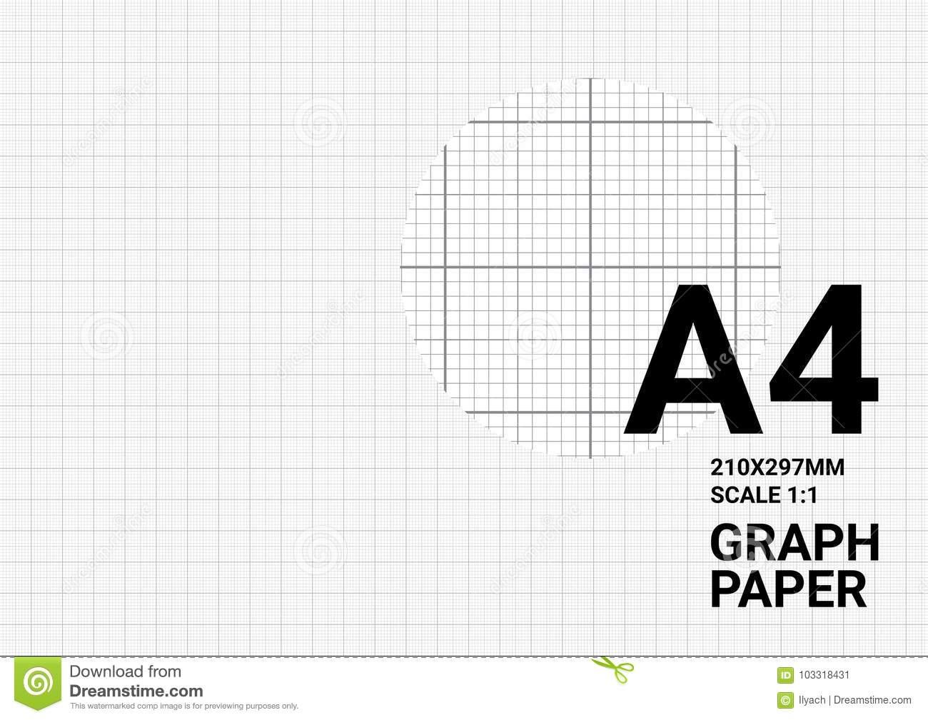 Dotted Graph Paper Background Plotting Dots Ruler Guide Grid ...