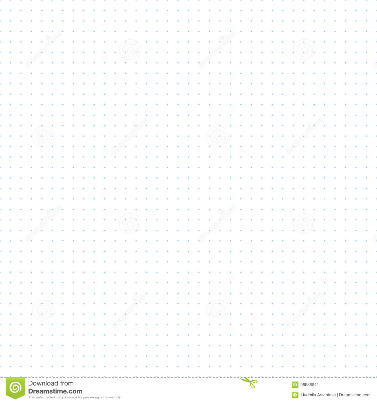 graphic regarding Printable Bullet Journal Paper named Dotted Grid Graph Paper Seamless Behavior Inventory Vector