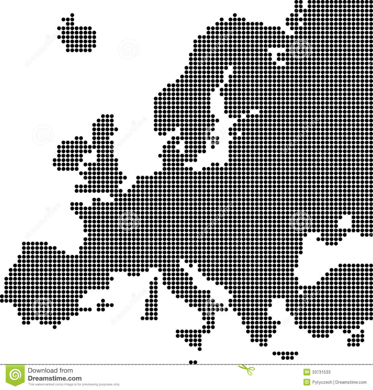 vector illustration of europe - photo #41