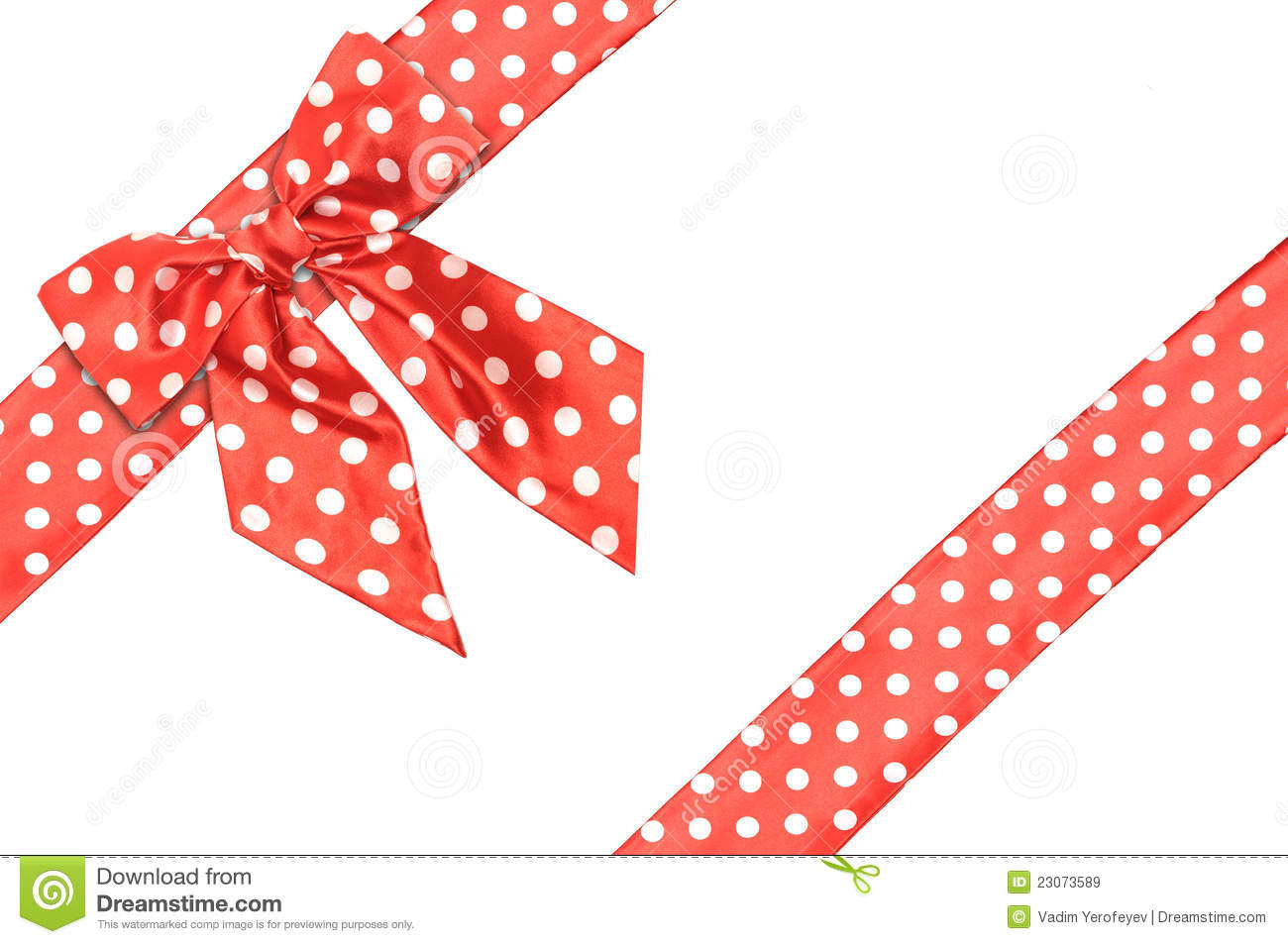 dotted red ribbon and - photo #29