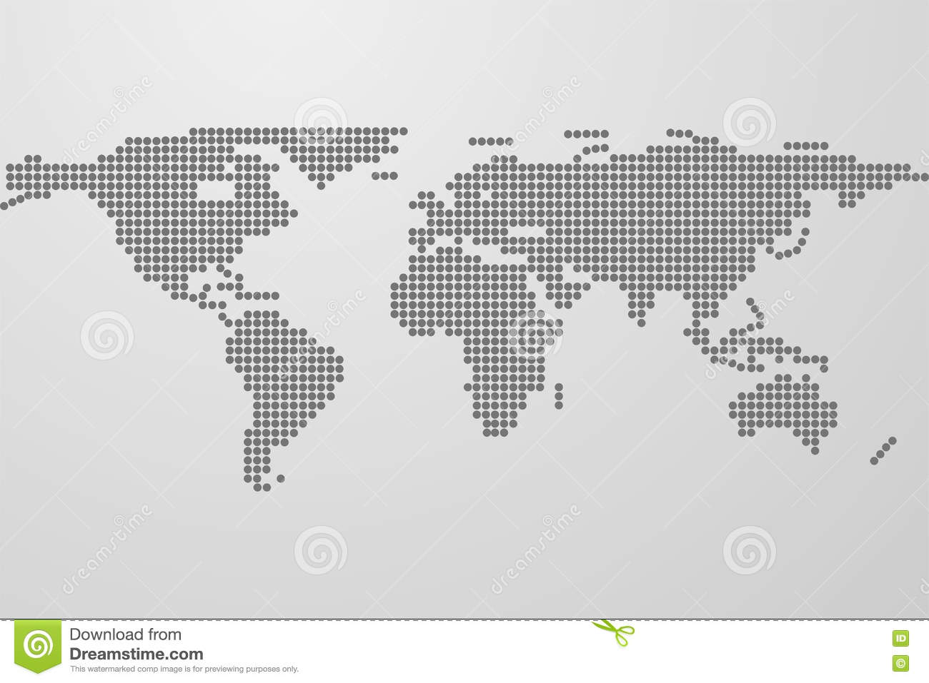 Dotted world map on gray gradient background world map from bla dotted world map on gray gradient background world map from bla gumiabroncs Images