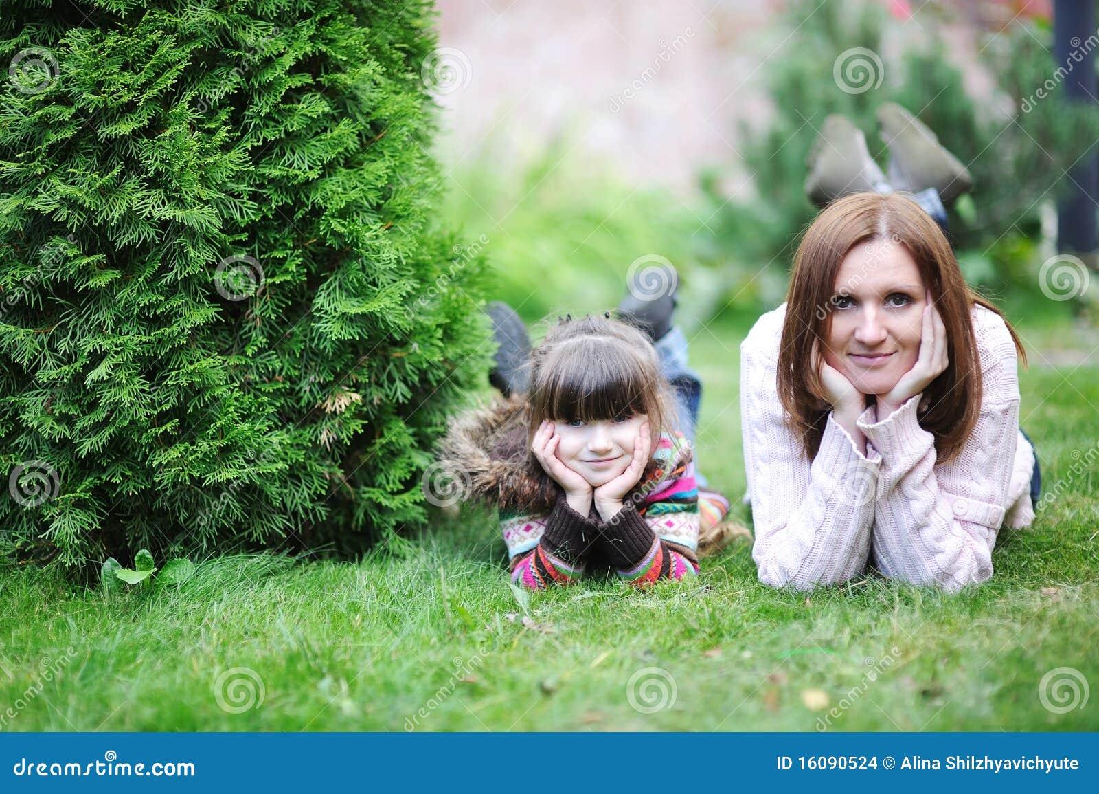 Dotterträdgård henne moderbarn