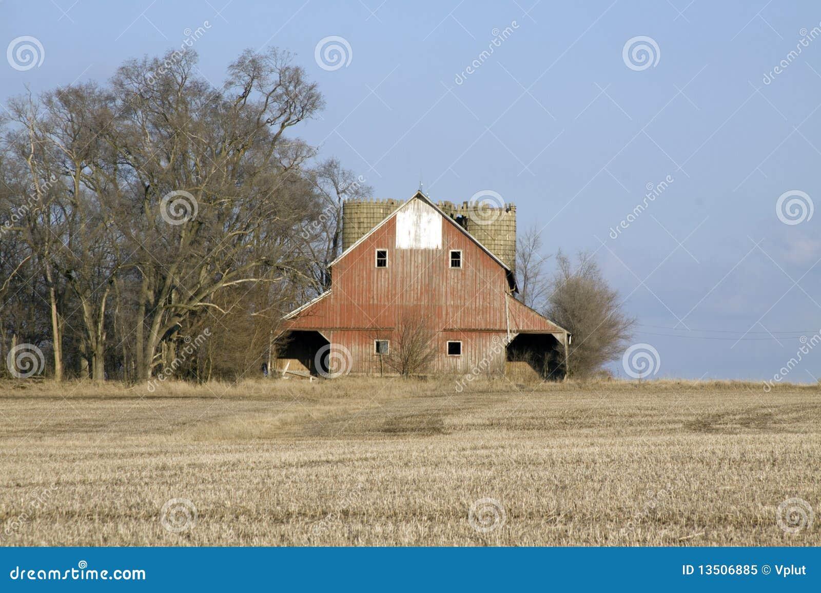 Double barn.