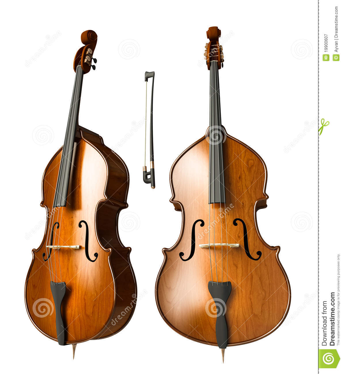 Double Bass Roy... Free Guitar Clipart