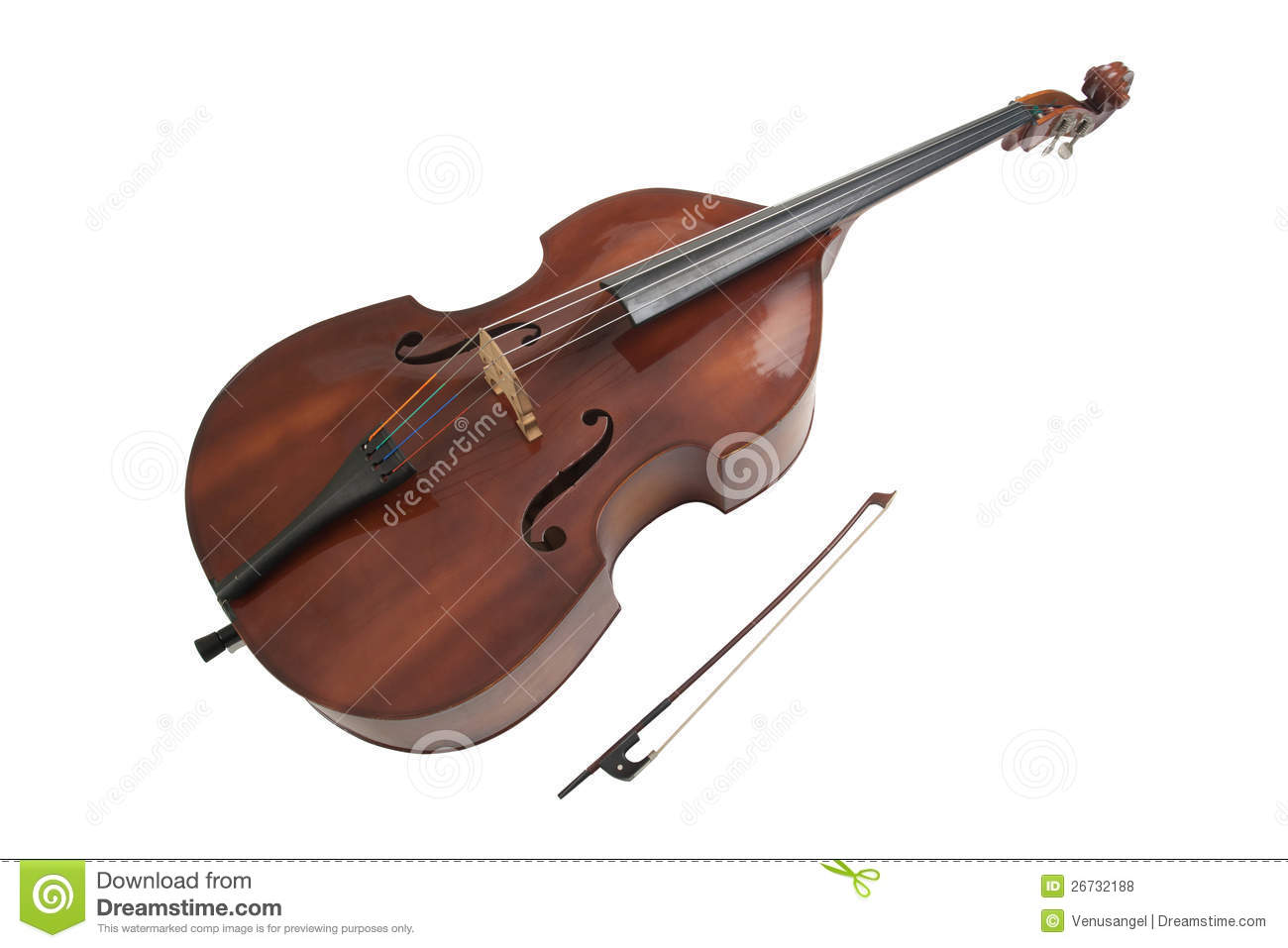 Double Bass Royalty Free Stock Photos Image 26732188