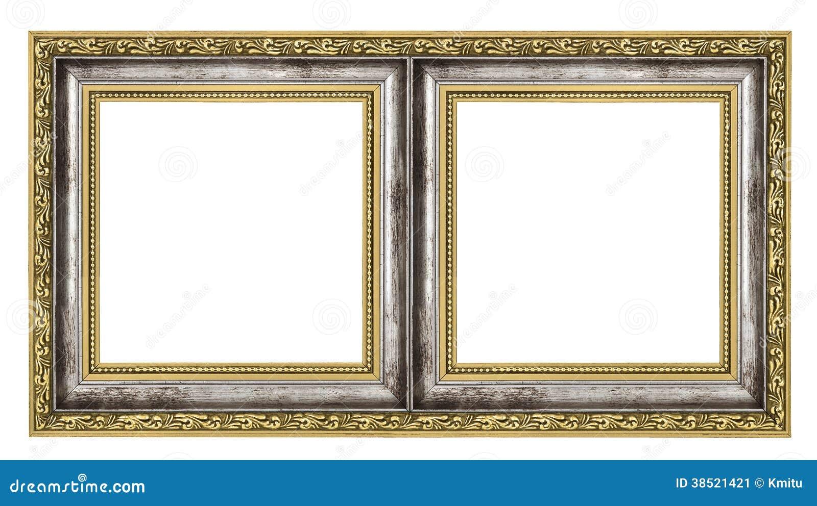double cadre image stock image du multicolore curieux 38521421. Black Bedroom Furniture Sets. Home Design Ideas