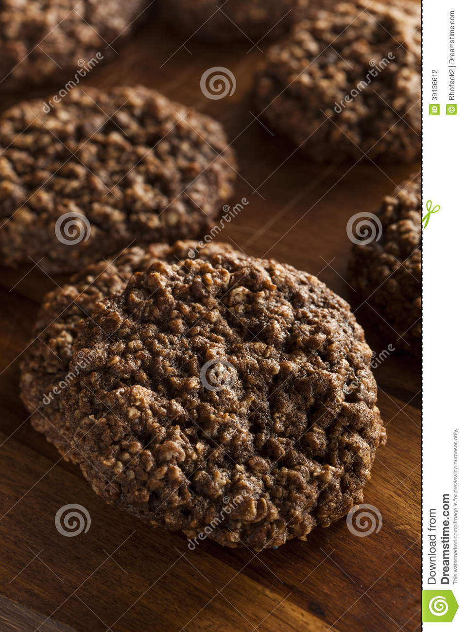 Double chocolat Chip Oatmeal Cookies