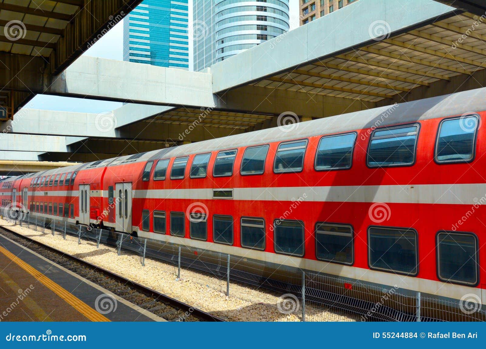 4c45c6c206 Double-deck Train In Tel Aiv
