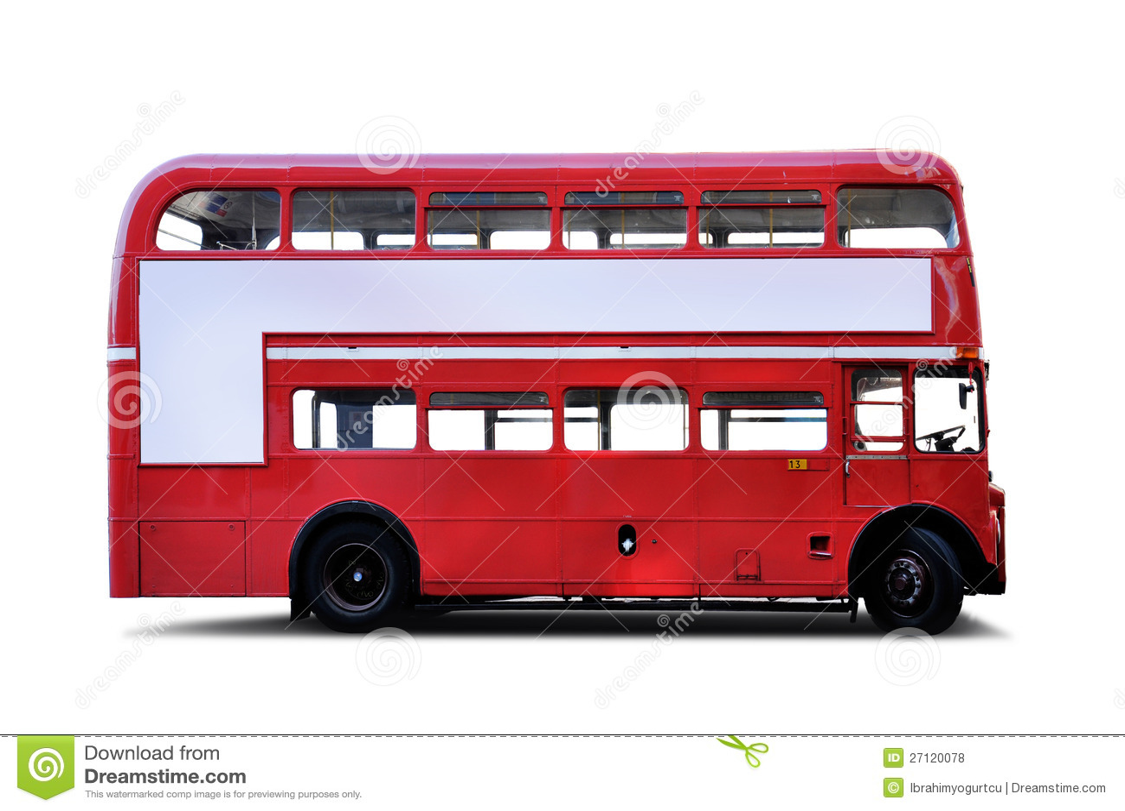 double decker bus royalty free stock photos
