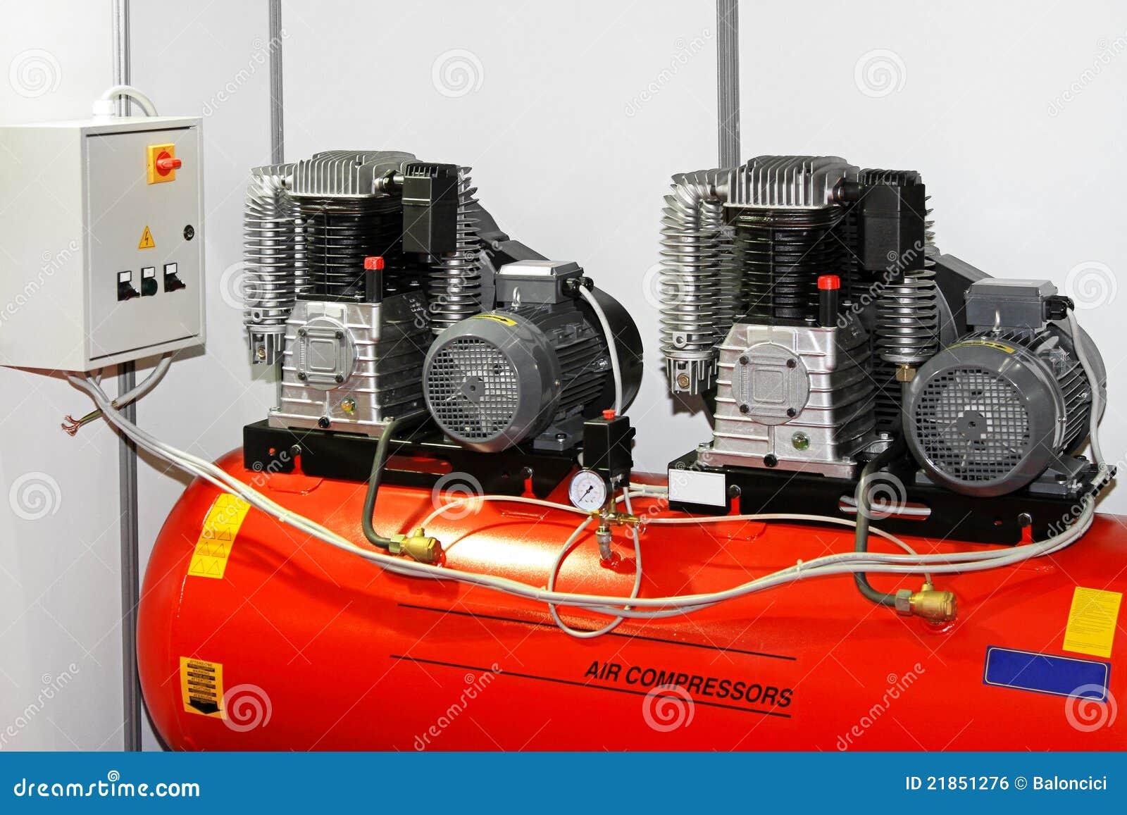 Double för luftkompressor