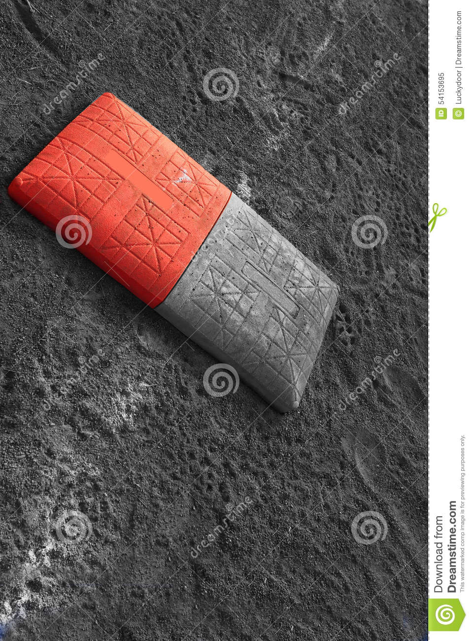 double first base stock photo image 54153695 double first base