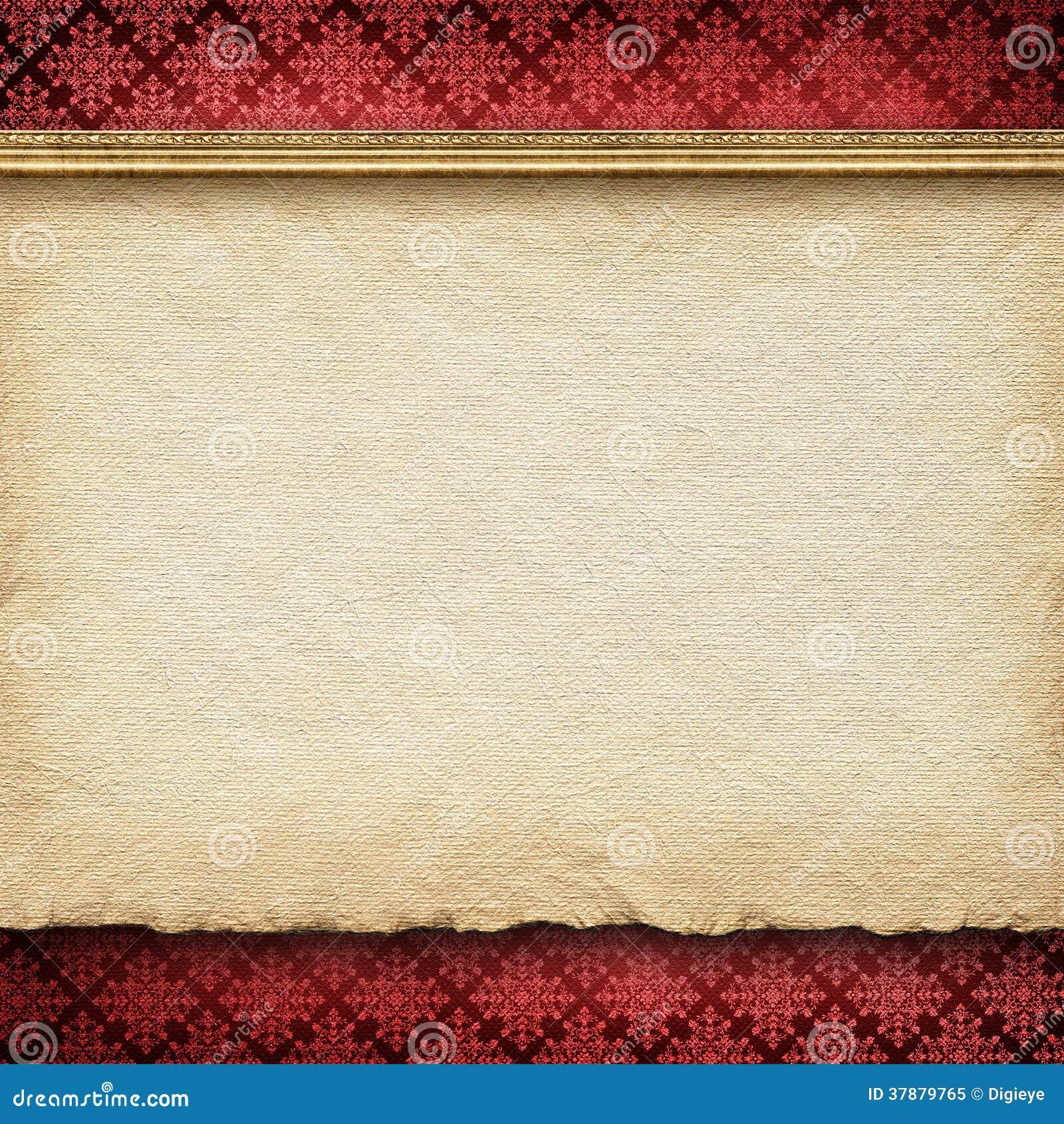 Double-layered malplaatje als achtergrond