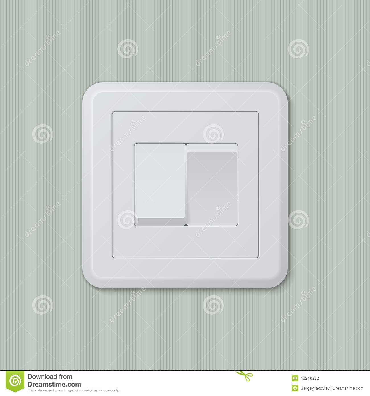Vector modern light switch icon background cartoon vector 78801159 - Prise electrique inde ...