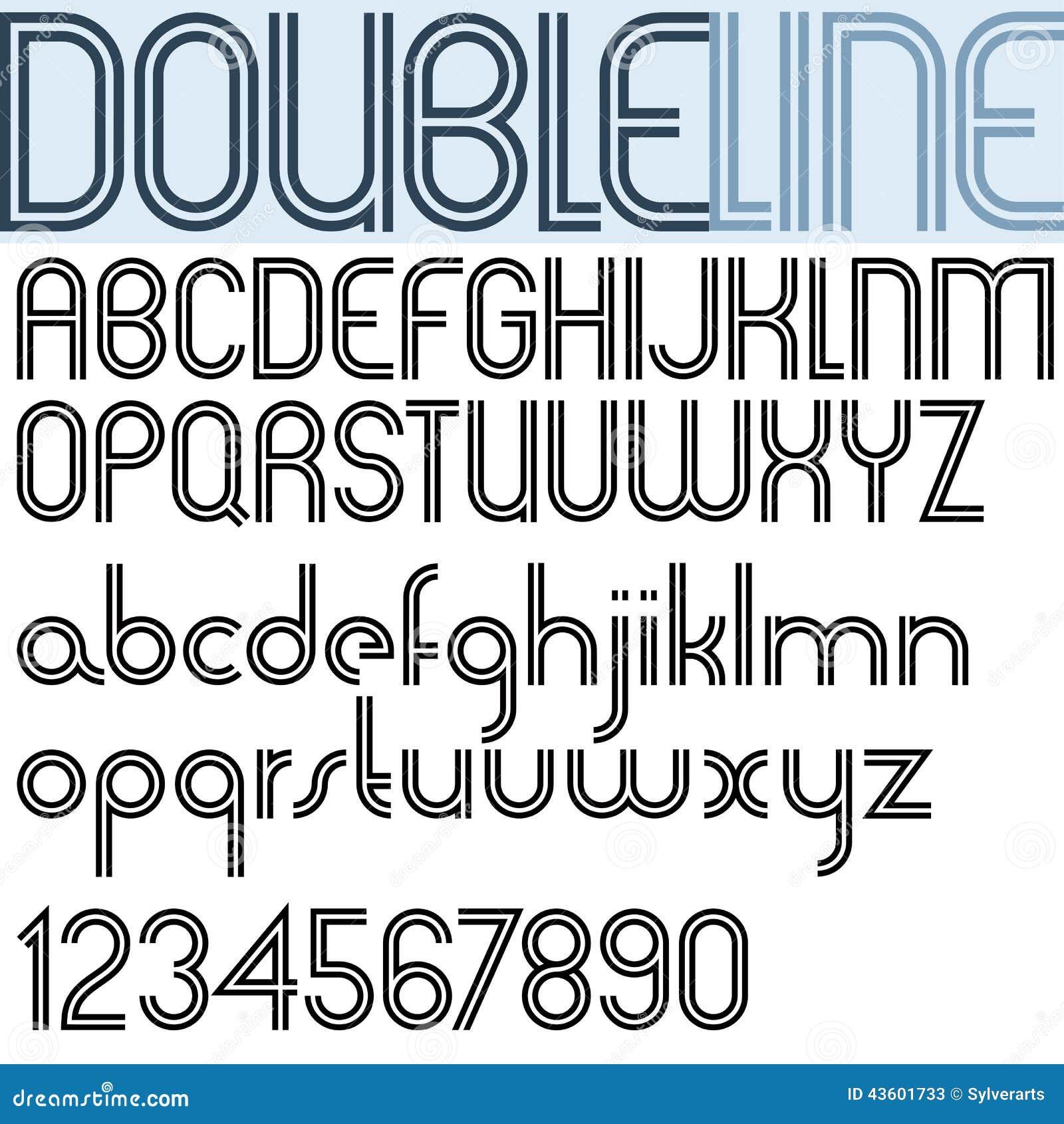 Stylish font a to z
