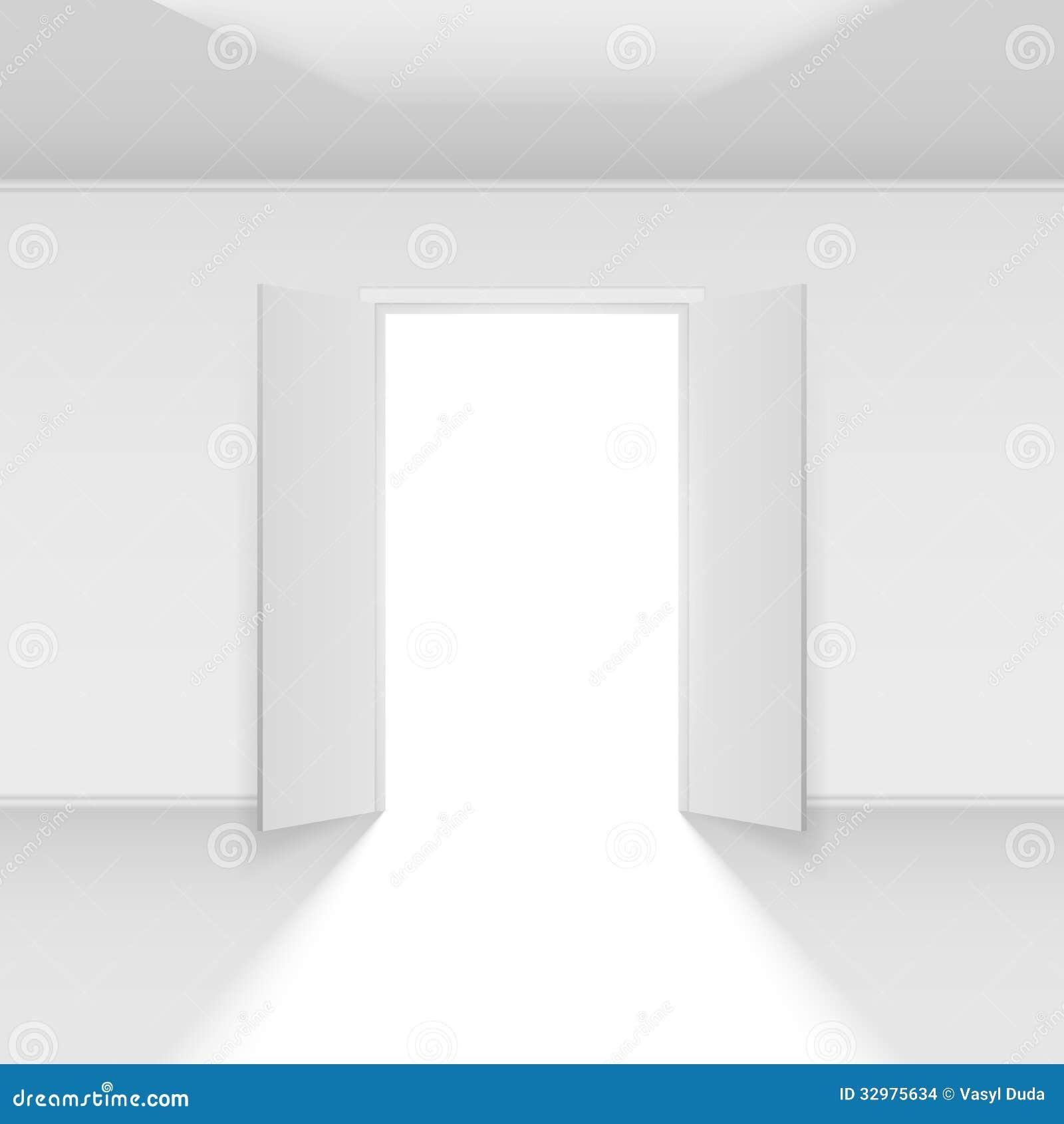 open door clipart. Double Open Door Clipart O