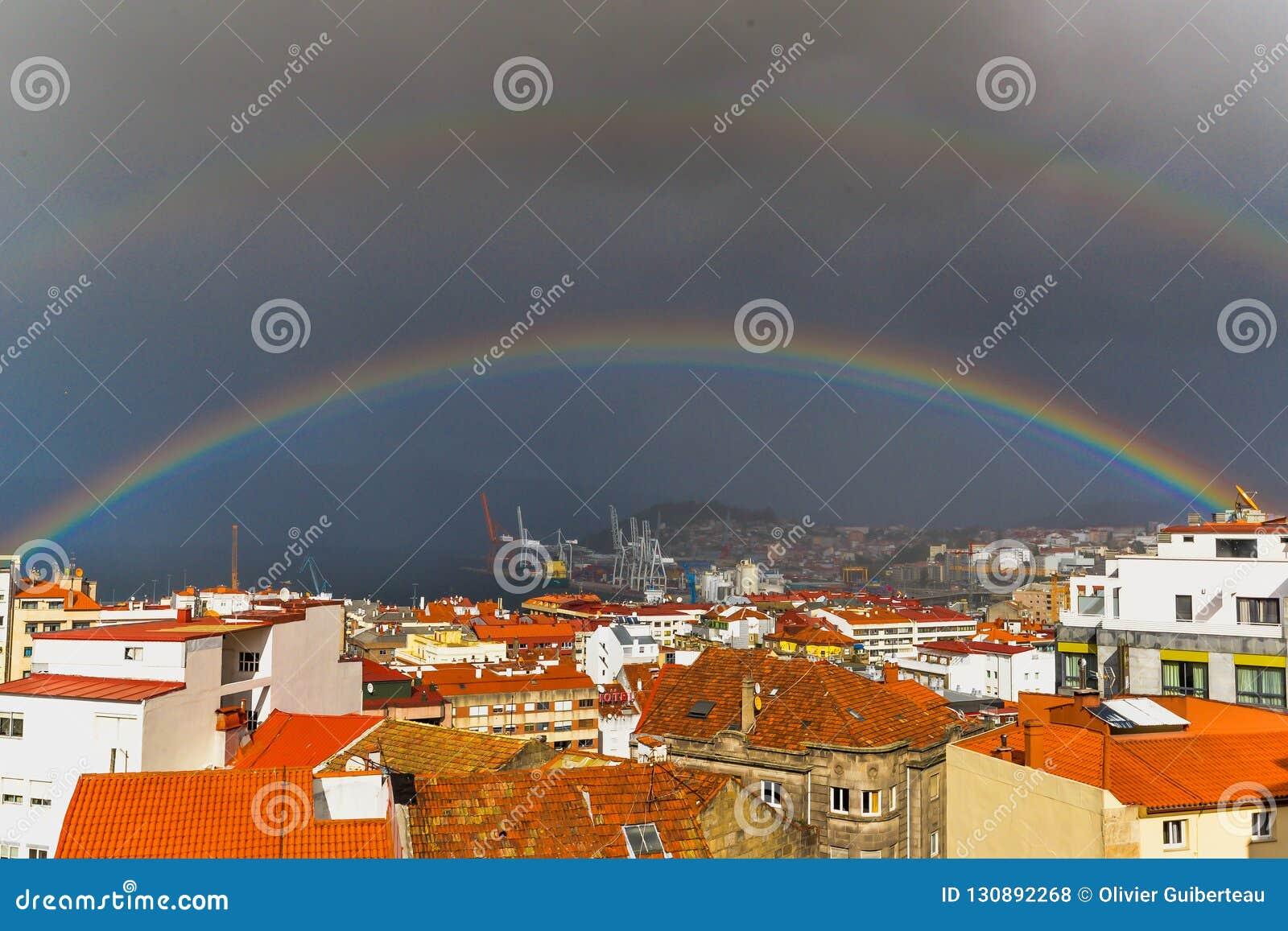 The double rainbow - Vigo