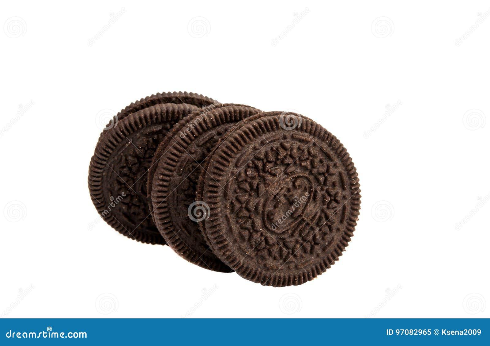 Double rond de biscuits