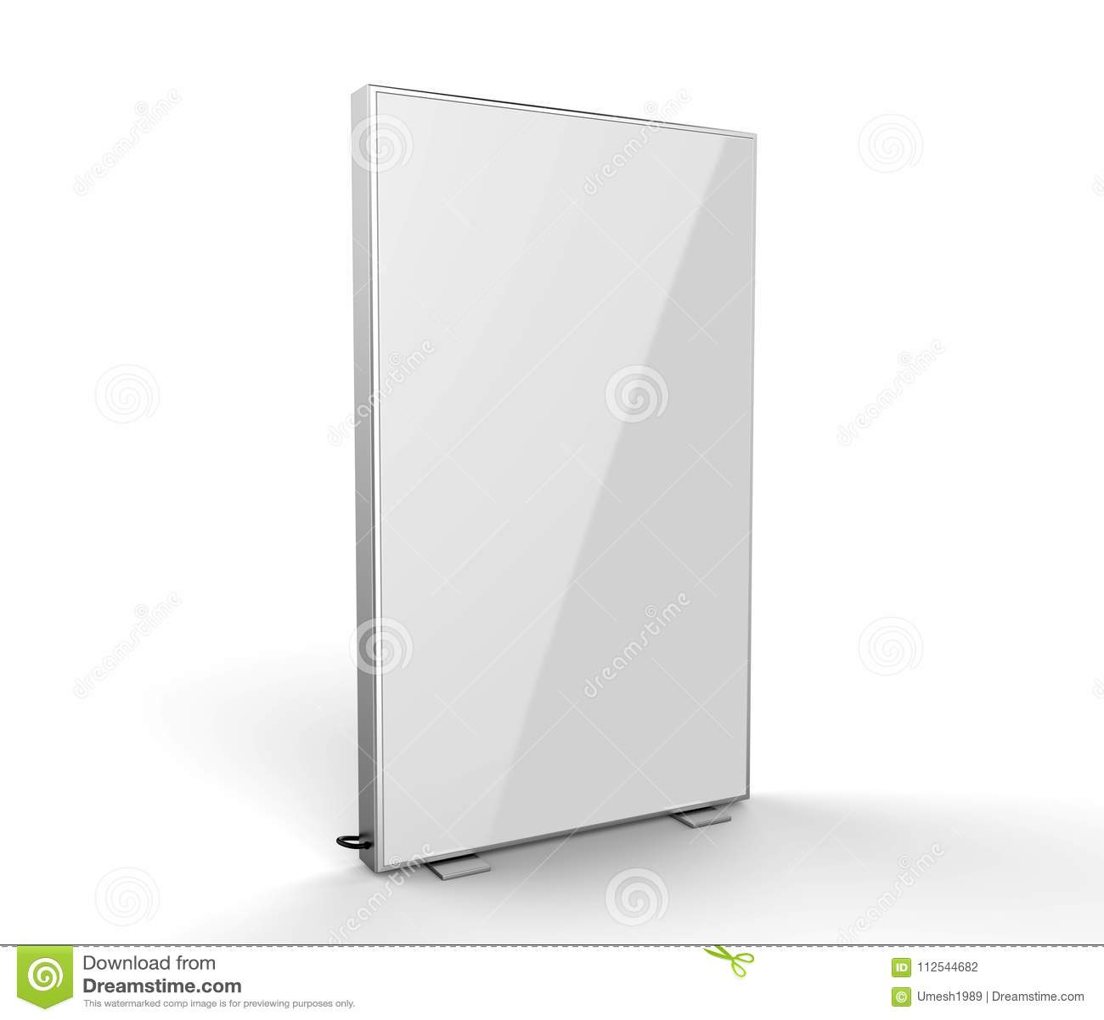 Double Side Advertising Light Box Reinforced Frame Less Lighted Sign ...