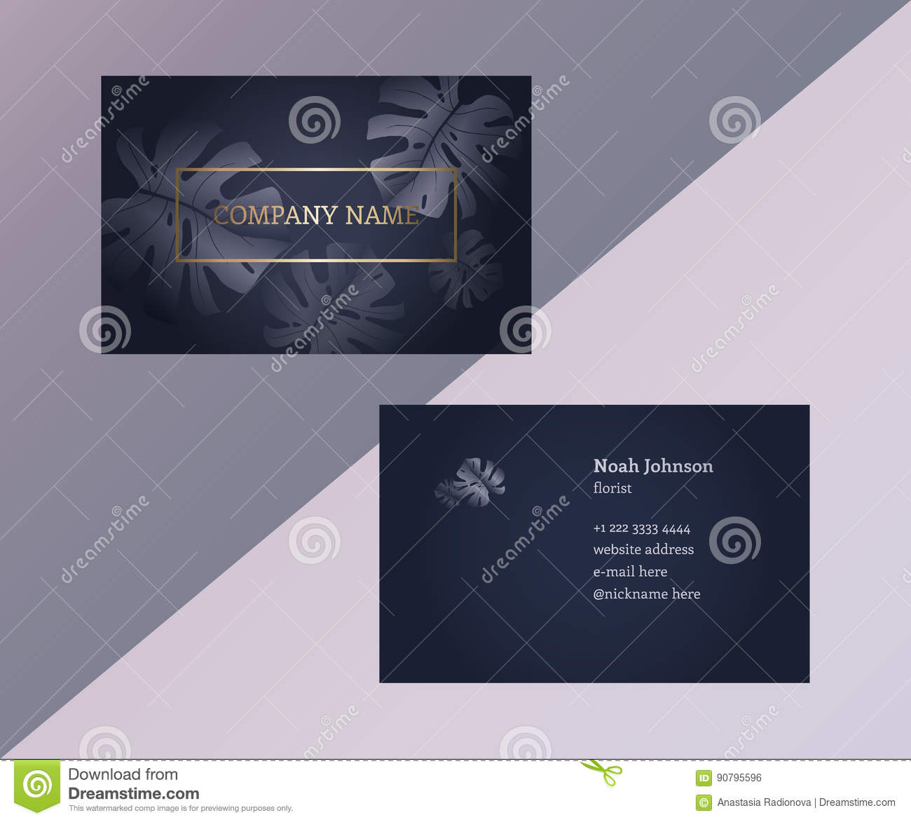 Two sided business cards word image collections card for 2 sided business cards templates free