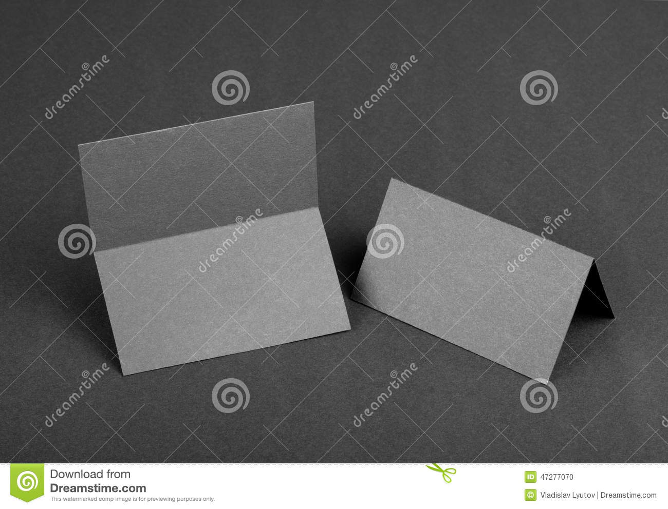 Double sided business card stock photo image 47277070 for Double sided place card template