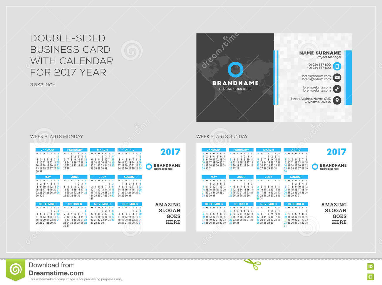 Comfortable Business Card Calendars Images - Business Card Ideas ...