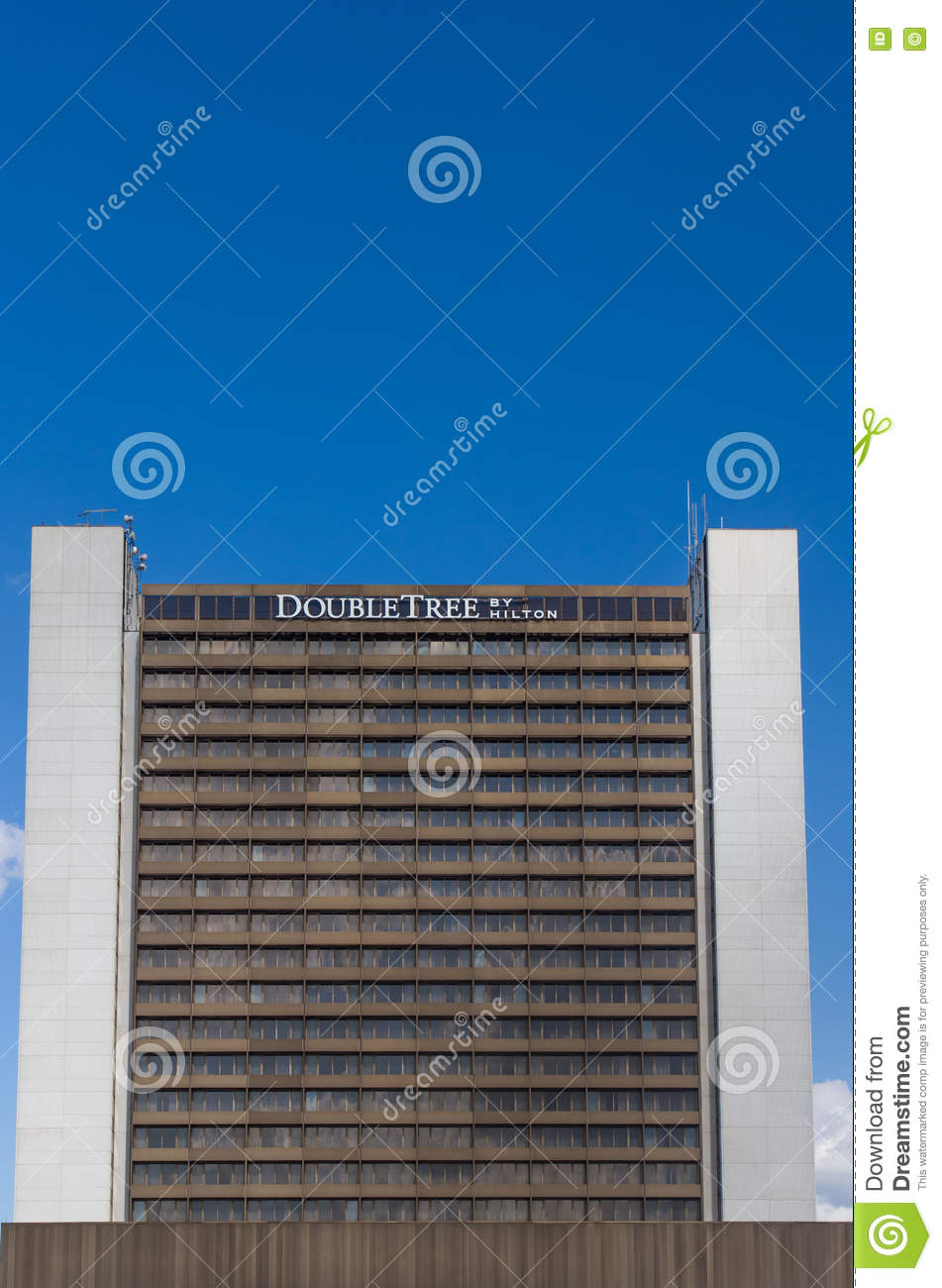 Double Tree By Hilton Hotel Editorial Stock Photo Image Of Chain
